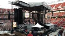 The stage is set at Levi Stadium