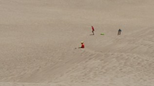 Young and old alike find many ways to enjoy the dunes