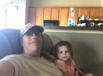Grandpa Dave with Harley