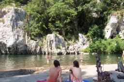 The River at La Sabliere