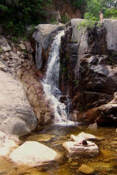 At the U-furu Falls in Corsica