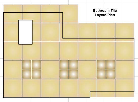 How To: Floor tile layout using a drawing application