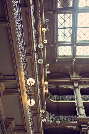 George Peabody Library Lights