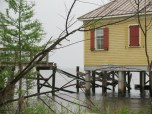 Cabin rental right on the lake - closed due to Hurricane Issac