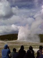 Old Faithrul Eruption