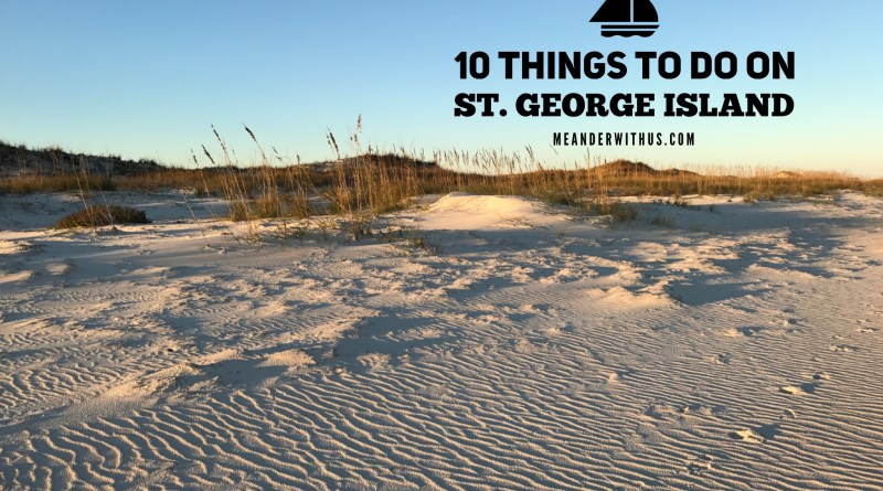 10 Things To Do on St. George Island