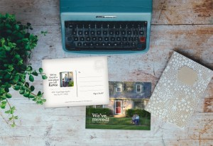 New Home Announcement, Babs Mullinax, me and grace, me & grace, Fort Wayne photographer, photo gifts, lifestyle photography, family photos, ideas for family photos, indoor photography, fun family photographer, long-distance family