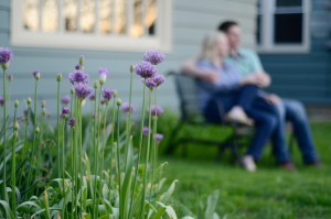 purple flowers, couple on a bench, Babs Mullinax, me and grace, me & grace, Fort Wayne photographer, photo gifts, lifestyle photography, family photos, ideas for family photos, indoor photography, fun family photographer, long-distance family