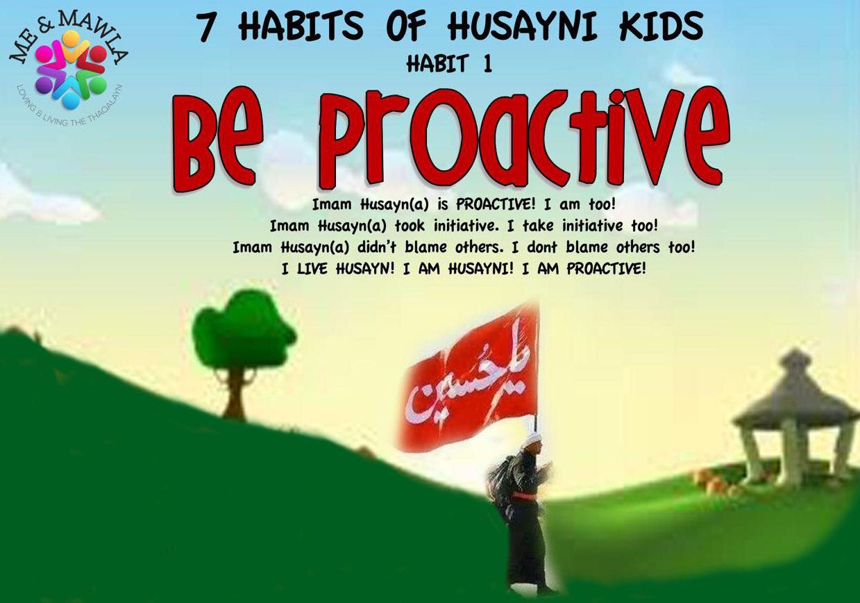 Habit 1 Be Proactive Meandmawla