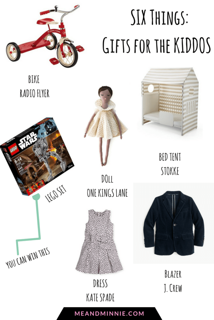 Five Things: Gifts for the Kiddos (plus some Cyber Monday Deals!)