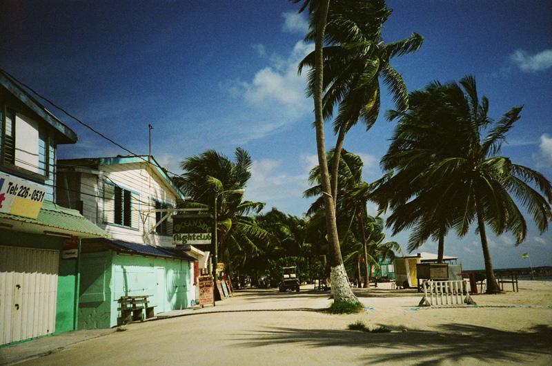 Belize ocean side
