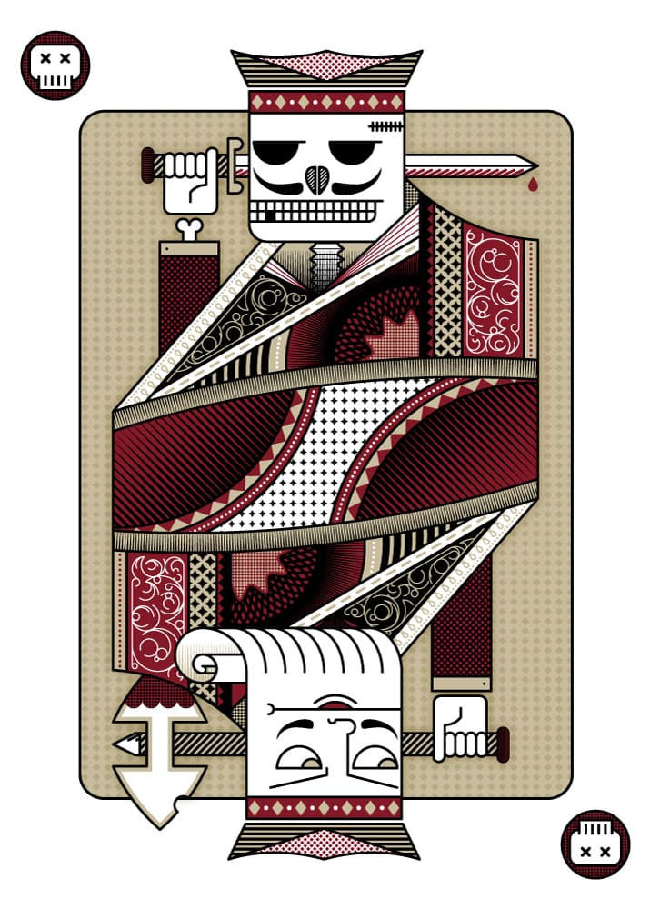 Skeleton-Card