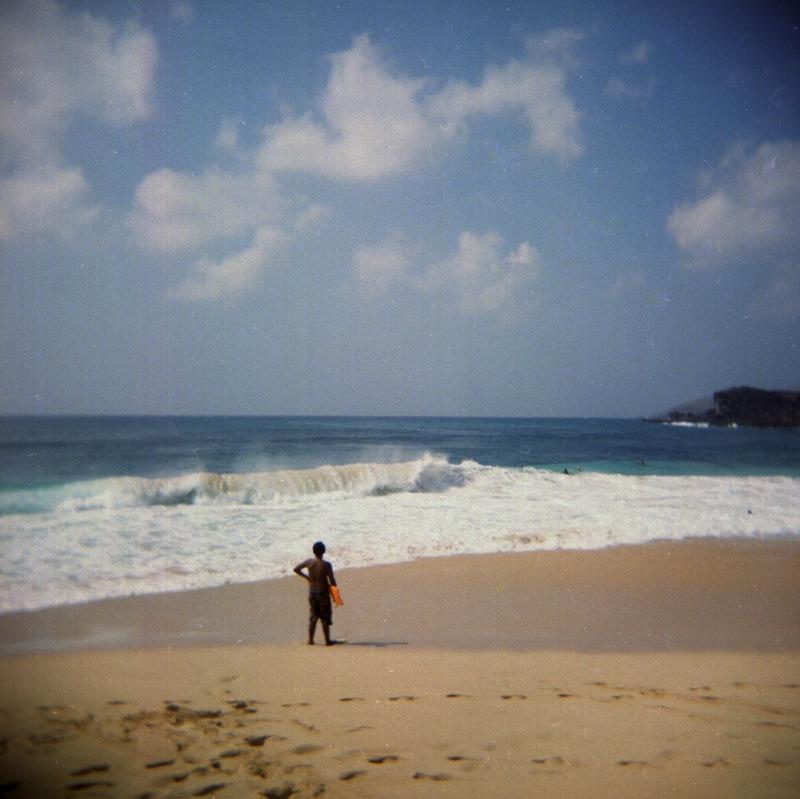 Hawaii beach. Holga 120
