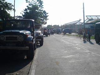 4x4 at the barangay hall
