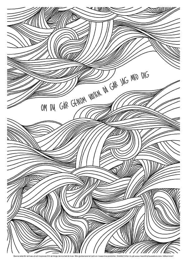 Ritpapper - Om du går genom vatten