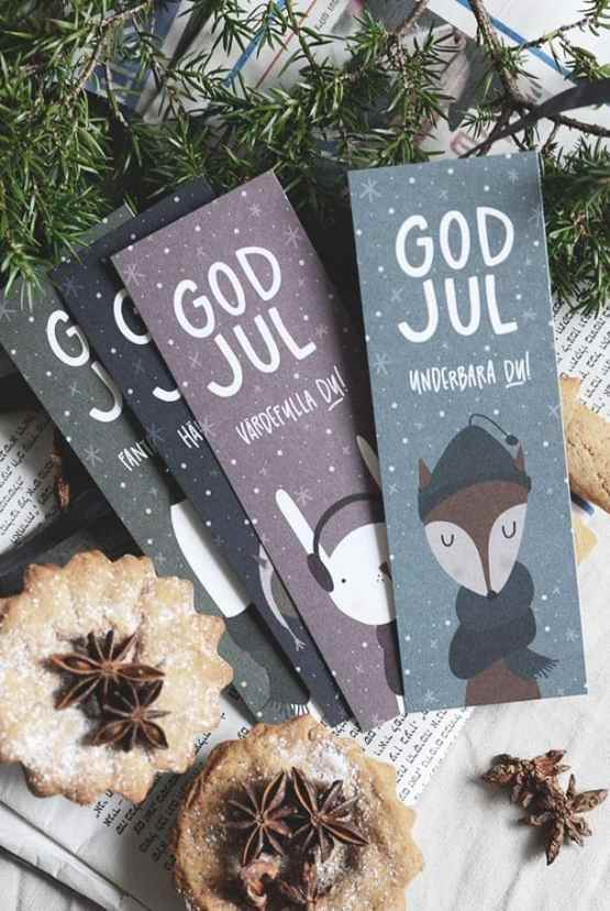 Julkort: God jul underbara du!