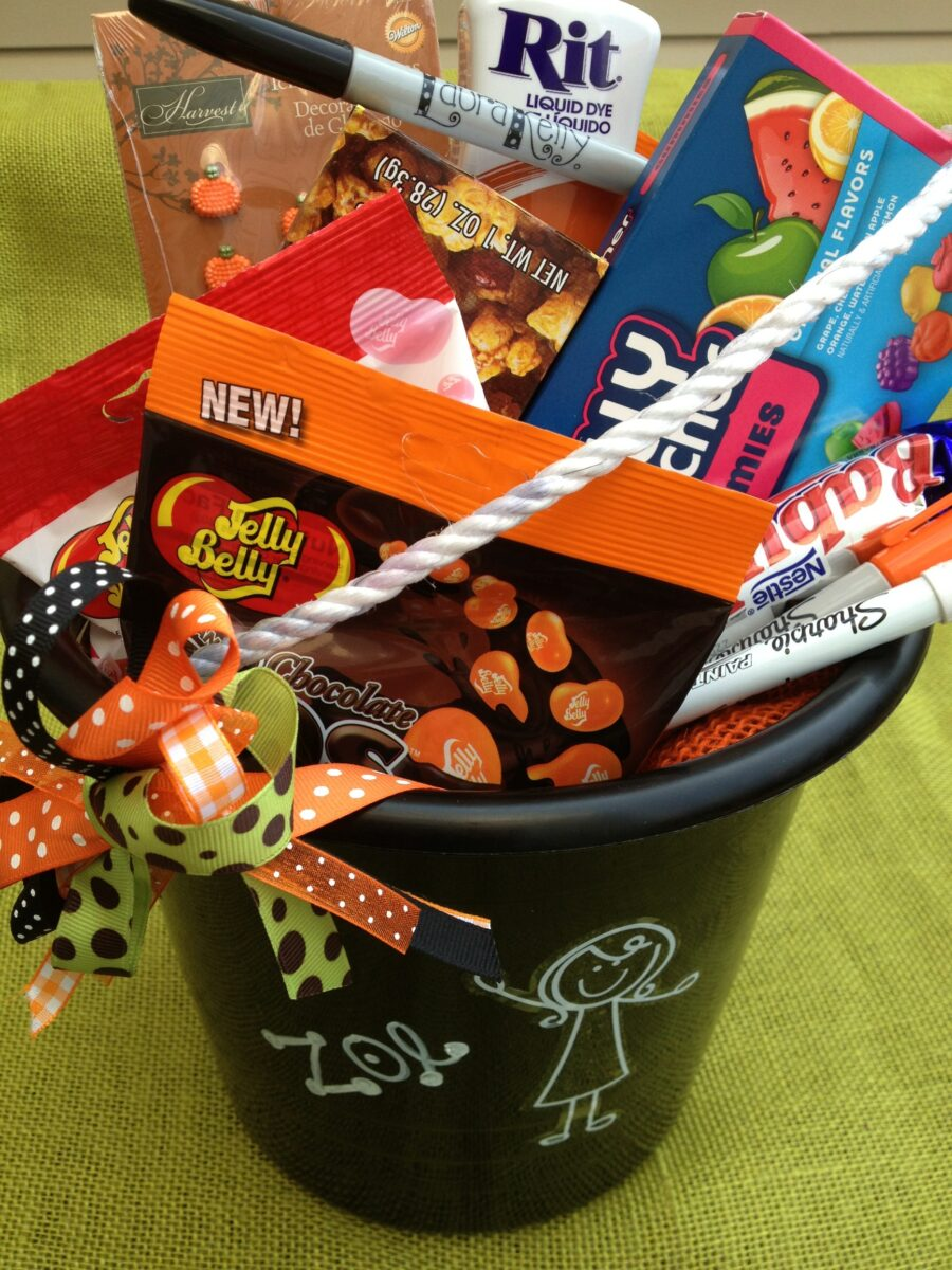 Me And My Peeps Halloween Trick Or Treat Bucket