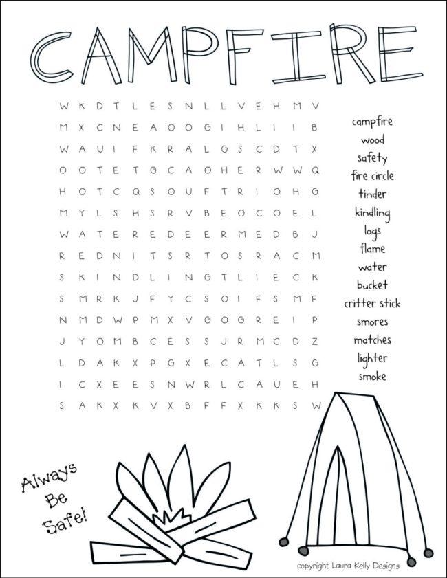 Campfire_Printable