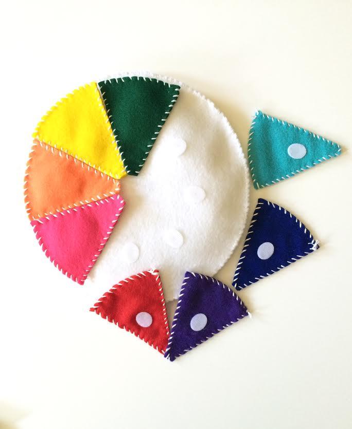 ColorWheel Pieces