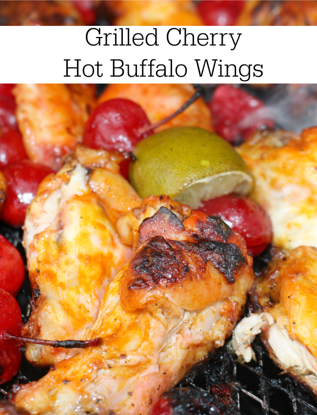 Grilled Cherry Hot Buffalo Wings