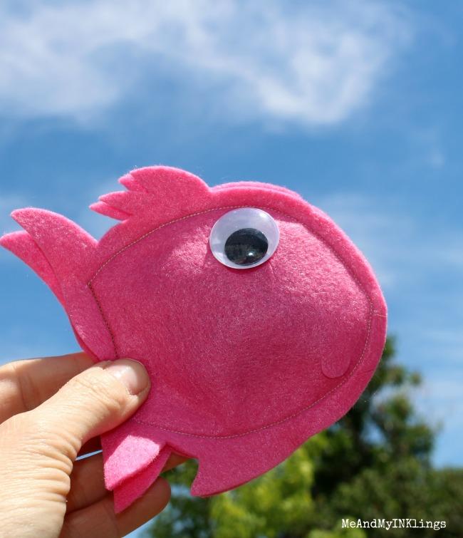 Pink Fish Sizzix Die