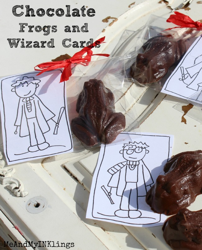 DIY Homemade Chocolate Frogs in Three Easy Steps