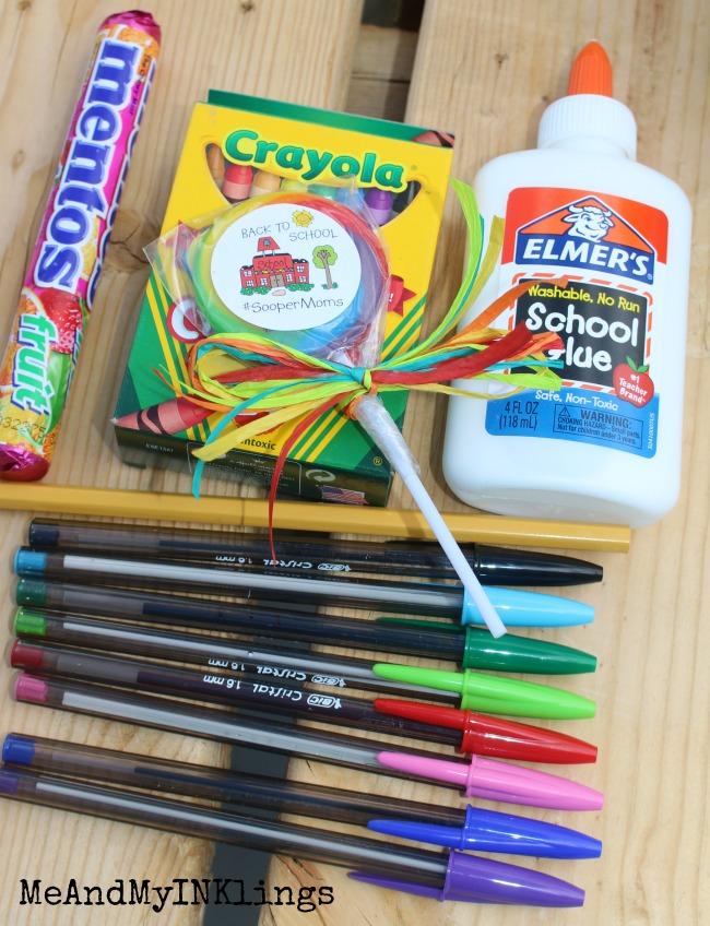 Supplies for Homework Stash