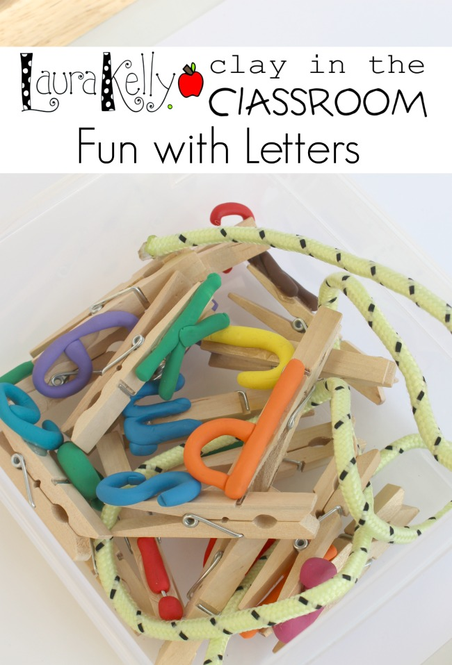 Bake Shop Clay Letters in the Classroom Laura Kelly