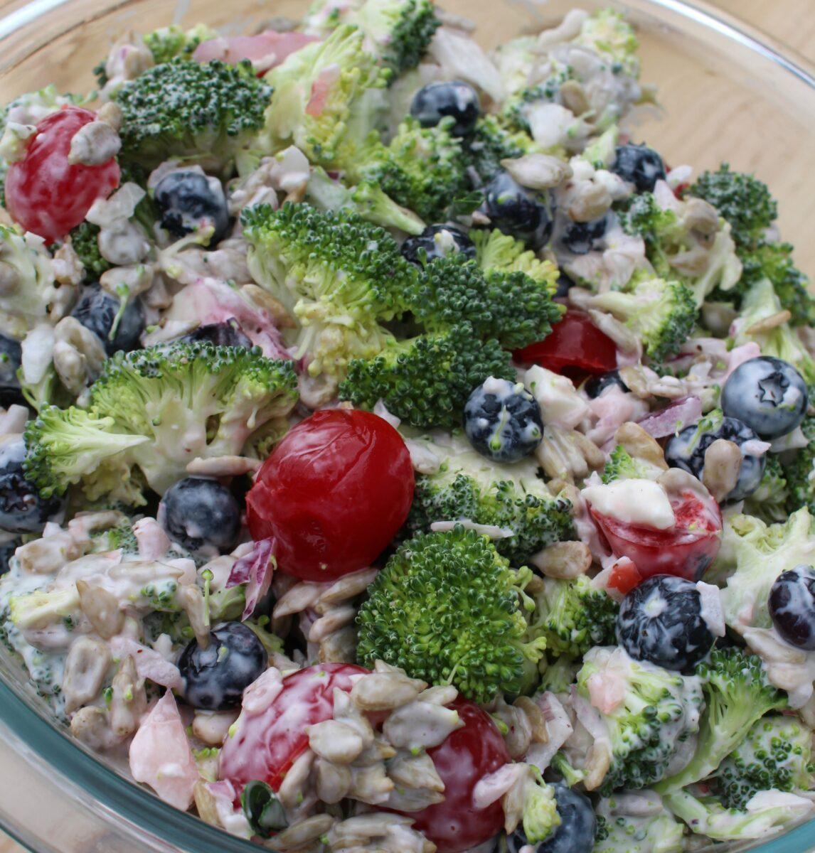 Broccoli and Cherry Salad