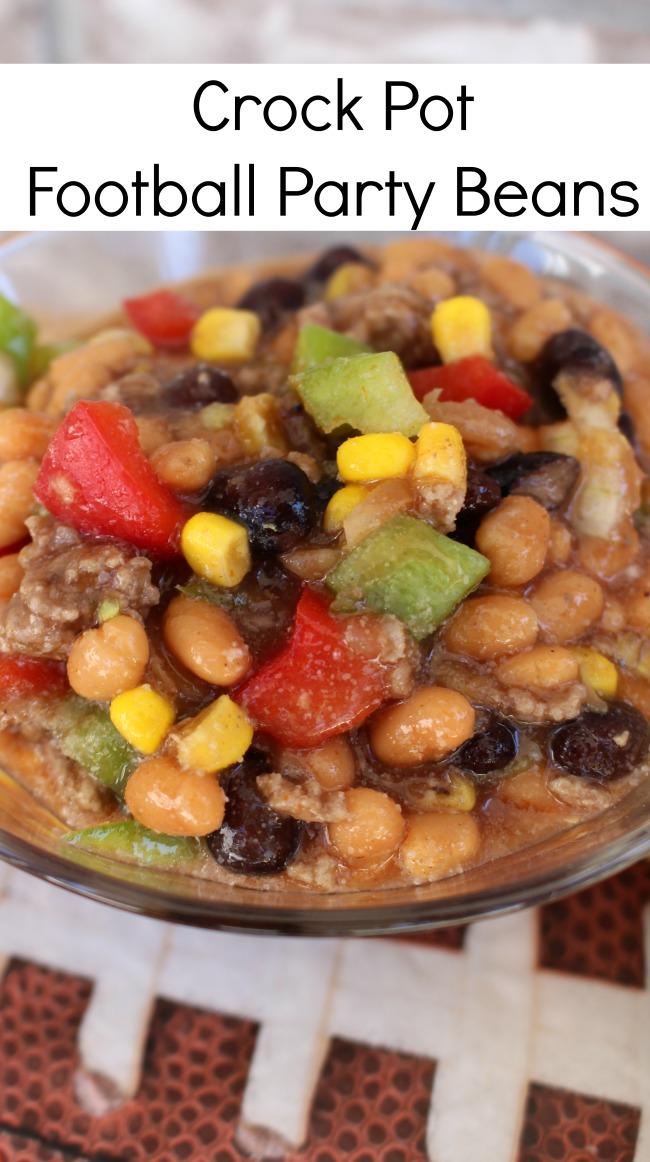 Crock Pot Football Party Beans