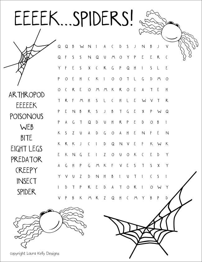 EEEK Spiders
