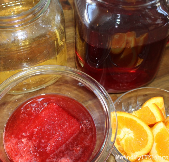 Game Day Punch Ingredients