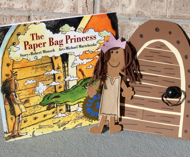 Me and My Peeps Paper Bag Princess with Book