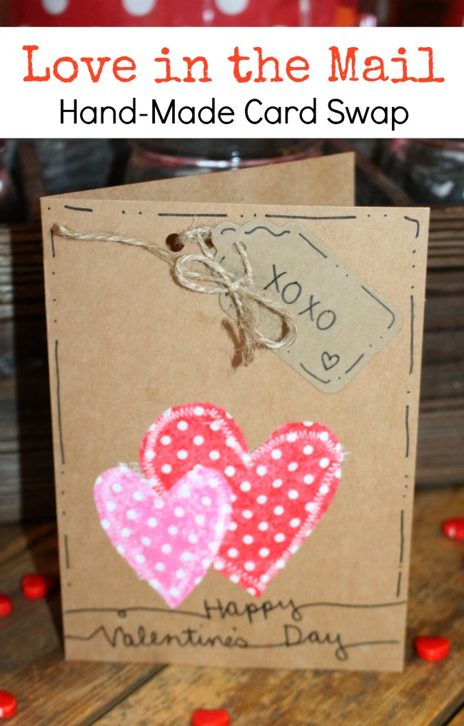 Love in the Mail Card Swap