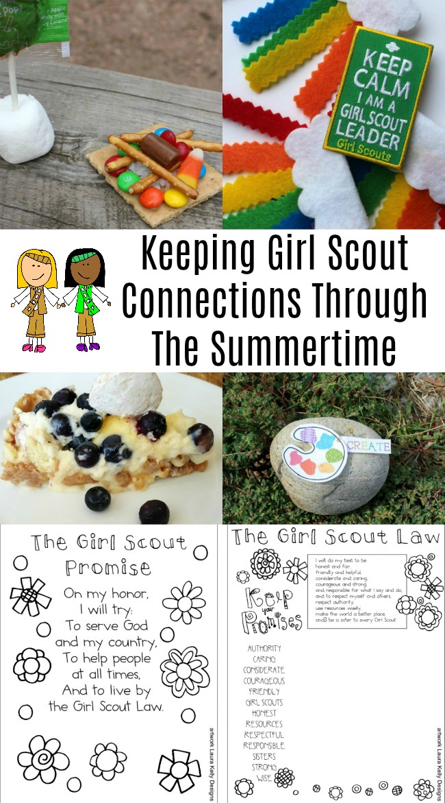 girl scouts summertime tips