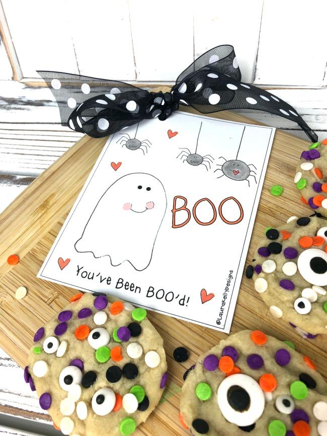 Halloween Cookies with Free Printable Tags