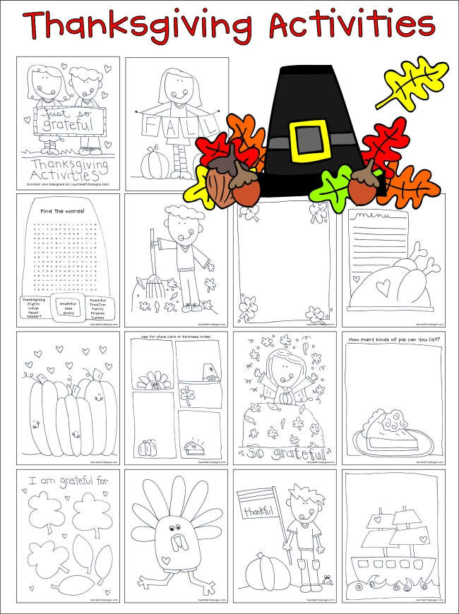 Thanksgiving Activites and FREE Printables
