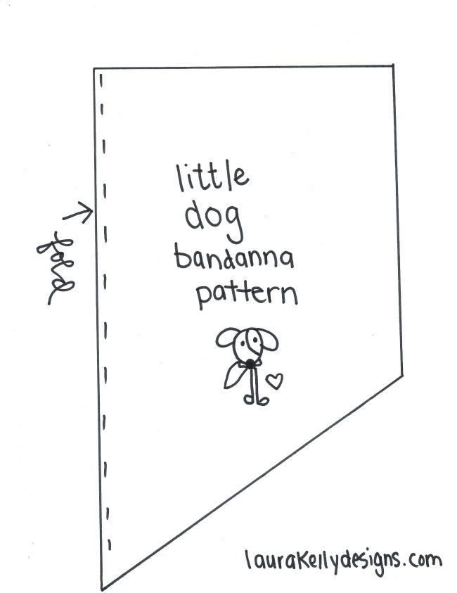 Dog Bandanna Pattern