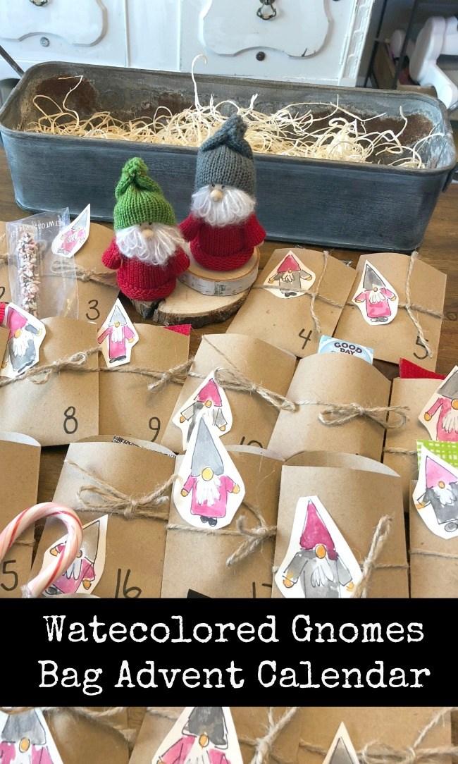 Gnome Advent Calendar DIY