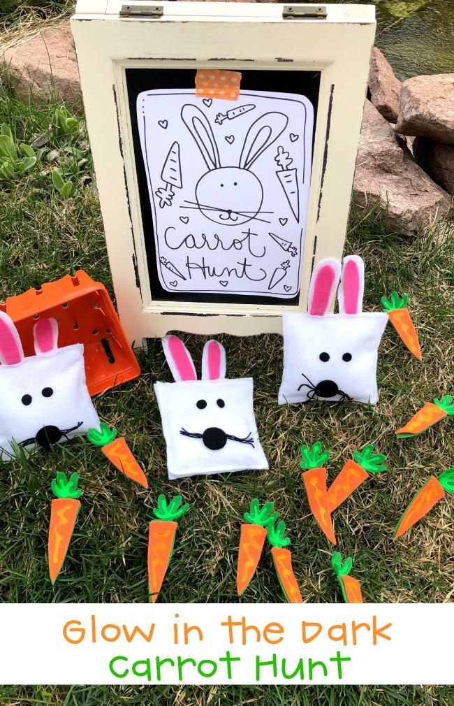Carrot Hunt Glow in the Dark Carrots