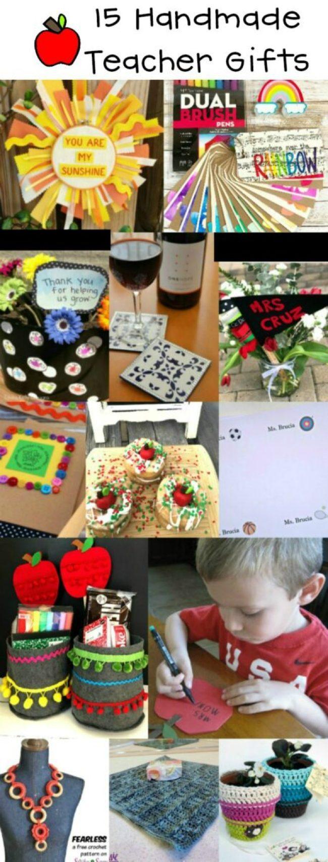 15 Handmade Teacher Gift Ideas