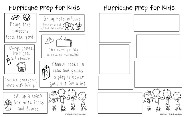 Hurricane Prep for Kids