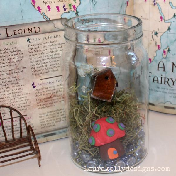 Jar Fairy Garden