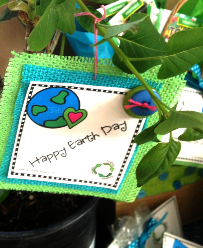 Earth Day Gift Tag