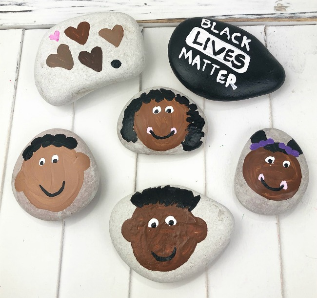Black Lives Matter Rocks