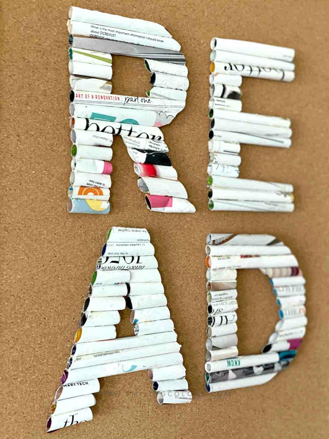 How-to-repurpose-magazines-to-make-easy-wall-art-letters