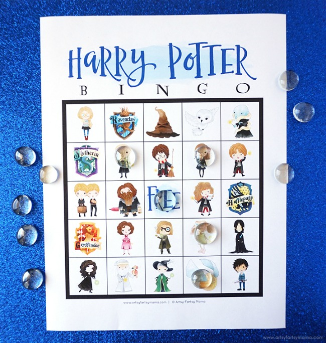 Harry Potter Bingo