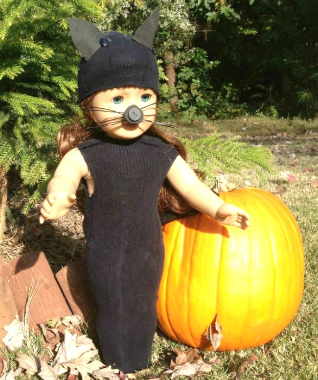 American Girl Costume Black Cat