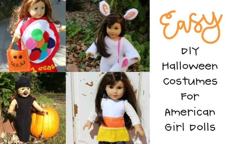 Best Easy Halloween Costumes for American Girl Dolls