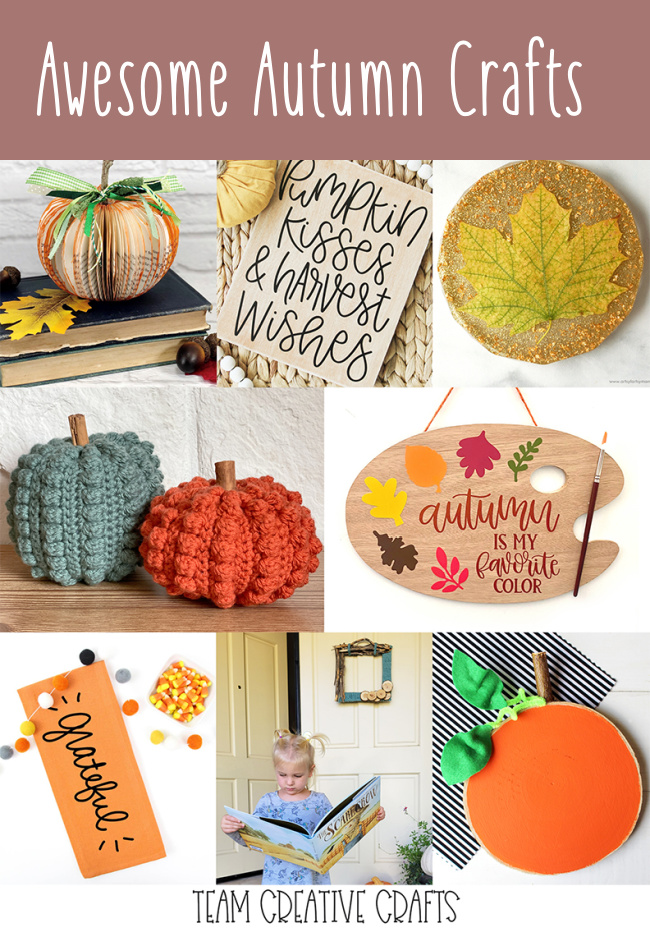 Awesome Autumn and Fall Craft Ideas
